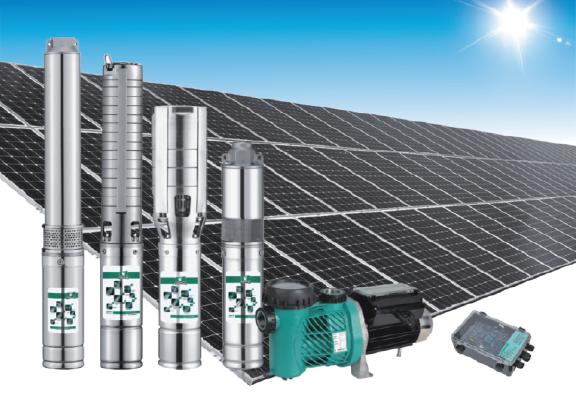 Hệ thống bơm nước dùng năng lượng mặt trời 300W