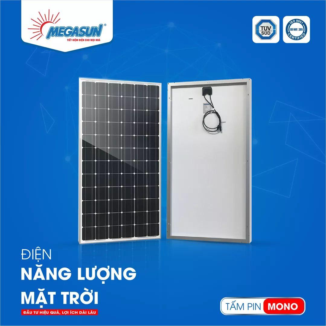 Tấm pin năng lượng mặt trời MEGASUN MONO