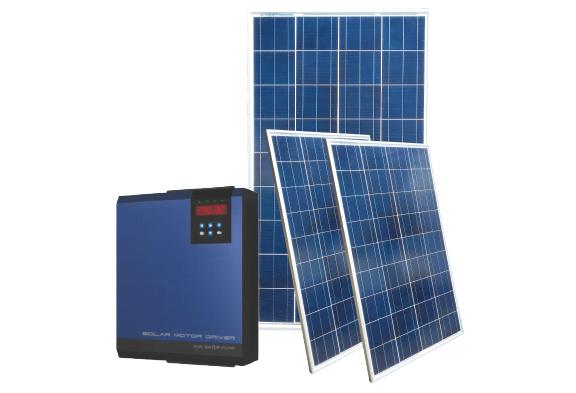 Hệ thống điện năng lượng mặt trời 3 pha dùng cho bơm nước