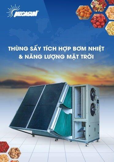 Catalogue Máy sấy bơm nhiệt kết hợp năng lượng mặt trời